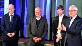 Drahoše v Lucerně podpořili Fischer, Horáček i Hilšer.