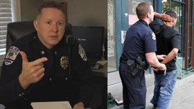 Policejní šéf je obviněn z rasismu.