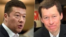 Tomio Okamura a jeho bratr Hayato Okamura nemají stejný názor na politiku.