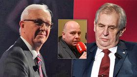 Politolog Lukáš Jelínek by si v prezidentské debatě na Primě svého kandidáta nevybral.