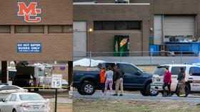 Mladík včera ve škole v Kentucky zastřelil dva spolužáky, dalších 17 zranil.