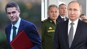 Ministr obrany varuje před ruskou hrozbou.
