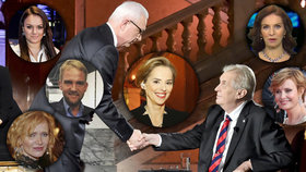 Prezidentskou debatu na ČT se Světlanou Witowskou okomentovaly i české celebrity.