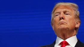Americký prezident Donald Trump promluvil na Světovém ekonomickém fóru v Davosu.