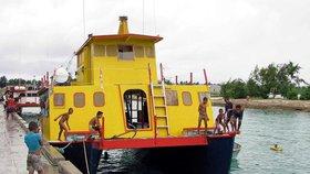 Pohřešovaná loď Butiraoi.