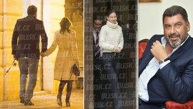 Ženatý poradce prezidenta Nejedlý se vodí za ruku s cizí ženou.