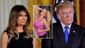Melania a Donald Trumpovi poprvé od skandálu s pornoherečkou spolu na veřejnosti.