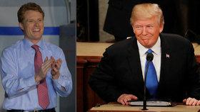 Na bilanční řeč prezidenta Trumpa reagoval Joe Kennedy.