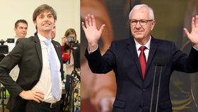 Marek Hilšer i Jiří Drahoš přemýšlejí o další politické kariéře. Rozhodnutí má padnout v řádu dnů.