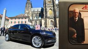 Neúspěšný kandidát Jiří Drahoš (68): Místo v limuzíně jezdí METREM!