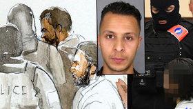 V Bruselu začal proces s teroristou Abdeslamem.