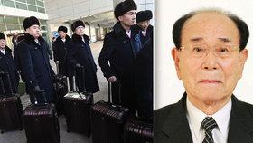 Severokorejskou delegaci povede formálně nejvyšší úředník země Kim Jong-nam.