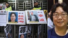 Švédsko, USA, EU a další se dožadují propuštění nakladatele Guiho Minhaie.