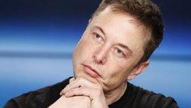 Šéf společnosti Tesla Elon Musk