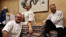 Norové si omylem na olympiádu objednali 15 tisíc vajec místo 1500.