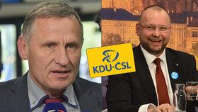 Čunek tlačí lidovce zpět do vlády. Bartošek mu připomněl, kdo v KDU-ČSL rozhoduje.