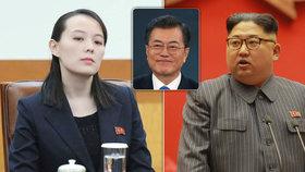 Sestra Kim Čong-una pozvala jihokorejského prezidenta do KLDR.