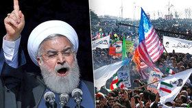 Tisíce Íránců oslavovaly 39. výročí islámské revoluce.