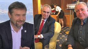 U Moravce se střetli poslanci Koten (SPD) a Chovanec (ČSSD). Ten vysvětloval, proč tleskal Zemanovi na jednom pódiu s Okamurou, kterého haní.
