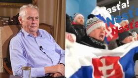 Zatímco Miloš Zeman odpočívá na zámku v Lánech, jeho slovenský protějšek Andrej Kiska vyrazil na ZOH 2018 do jihokorejského Pchjongčchangu, kde chce podporovat slovenské i české sportovce.
