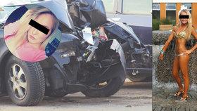 Víkendová nehoda u Prahy: Zemřela při ní miss bikiny Nikol (†26)
