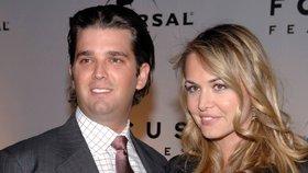 Vanessa Trumpová s manželem