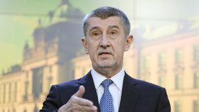 Premiér v demisi Andrej Babiš