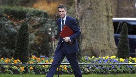 Britský ministr obrany Gavin Williamson kritizoval ruské snahy o kyberútoky.