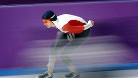 Útok na třetí zlato v řadě nevyšel, ale Martina Sáblíková urvala stříbro!