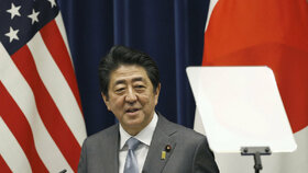 Japonský premiér Šinzó Abé
