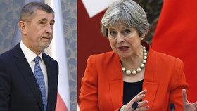 Britská premiérka Theresa Mayová bude na konferenci v Mnichově chválit za bezpečnostní spolupráci Česko. Jenže český premiér to neuslyší. Andreje Babiše prý trápí nachlazení.