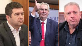 Jan Hamáček, Miloš Zeman a Milan Chovanec. Kdo bude klíčovým hráčem pro budoucnost ČSSD?