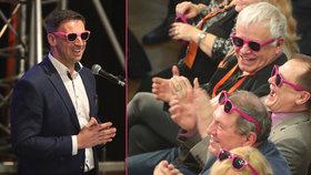 Jiří Zimola nasadil delegátům na sjezdu růžové brýle (18.2.2018)