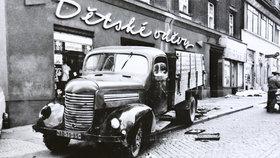 Legendární auto Praha RN