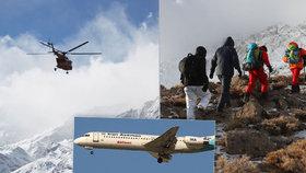 Pátrání po zmizelém íránském letadle pokračuje, v tisku se už objevily zprávy, že byly nalezeny trosky, vláda to ale nepotvrdila.