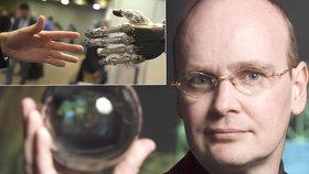 Ian Pearson - futurolog, který slibuje nesmrtelnost od roku 2040.