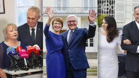 """První dámě dal manžel ledvinu, Kiskové zemřel bratr z Prahy. Kdo jsou """"kolegyně"""" Zemanové?"""