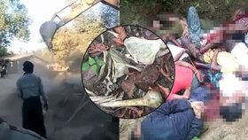 Na místa masových hrobů poslala barmská vláda buldozery, chtějí zničit všechny stopy masakrů.