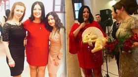 XXL miss Ivana Christová: Červené minišaty odhalily kyprá stehýnka!