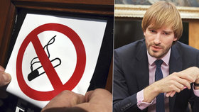 """Ministr zdravotnictví Vojtěch: Zákon proti kouření mírnit nechci. A co říká o """"čistkách""""?"""