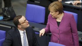 Angela Merkelová při projevu o budoucnosti EU