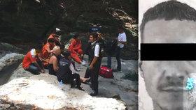 Čech se kvůli fotce zřítil v Thajsku ze skály: Kamarádi ho hájí proti útokům na internetu