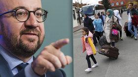 Belgický premiér pohrozil Česku.