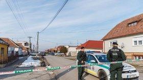 Na místě, kde byl zavražděn slovenský novinář Ján Kuciak s přítelkyní.