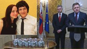 Slovenský premiér Robert Fico ukázal milion eur, který vláda připravila pro člověka, který by policisty přivedl na stopu vrahům slovenského reportéra Kuciaka.
