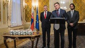Slovenský premiér Robert Fico