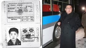Kim Čong-un cestoval na podvodně získaný brazilský pas s razítkem z Prahy.