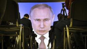 Projev Vladimira Putina