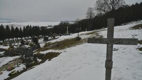 Martinku pohřbili na hřbitově v Gregorovcích
