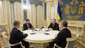 Ukrajina je v krizi po zastavení dodávek plynu z Ruska.